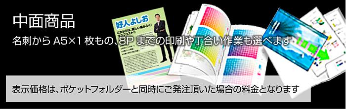 A5×6P(巻三つ折り)